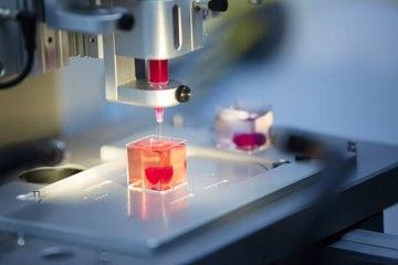 Imprimir un prototipo en 3D de un corazón con células humanas ¡ya es posible!