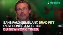Brad Pitt : il a passé 18 mois aux alcooliques anonymes