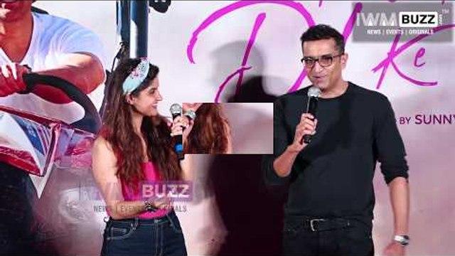 Karan Deol and Dharamendra at the trailer launch of Pal Pal Dil Ke Pass