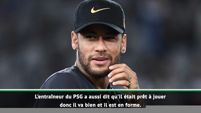 Brésil - Tite évoque l'état de forme de Neymar et sa situation au PSG