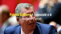 Patrick Balkany « bousculé » à Levallois-Perret