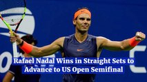 Rafael Nadal Goes To The U.S. Open Semifinal