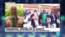 Cameroun : M.Kamto, principal opposant à P. Biya est jugé pour insurrection