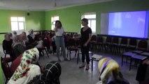 Yoncalı beldesinde kadınlara yönelik sağlık semineri