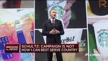 Howard Schultz, l'ancien patron de Starbucks qui envisageait de se présenter à l'élection présidentielle américaine de 2020, annonce qu'il renonce