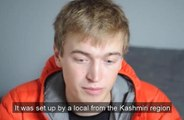 Medical student Christopher Pickles talks about his recent trip to Kashmir. Video by Tony Johnson.
