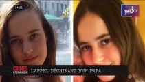 La Queue les Yvelines : L'appel déchirant d'un papa en vidéo pour retrouver sa fille de 13 ans disparue depuis mercredi dans les Yvelines