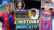 L'incroyable histoire du mercato du FC Barcelone