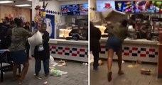 Elle pète un câble et saccage un McDonald's, car la machine à glace était en panne