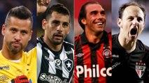 Jogadores com mais partidas disputadas no Brasileirão