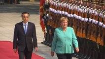 Angela Merkel évoque la crise de Hong Kong lors d'une visite à Pékin