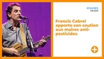 Francis Cabrel apporte son soutien aux maires anti-pesticides
