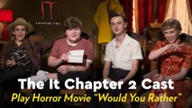 "The It Chapter 2 Cast Played an Intense Game of Horror Movie ""Would You Rather,"" and I'm Still Creeped Out"