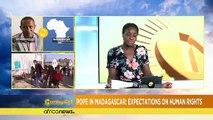 Le Pape attendu à Madagascar sur la question des Droits de l'Homme [The Morning Call]