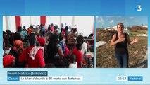 Ouragan Dorian : un nouveau bilan provisoire fait été de 30 morts aux Bahamas