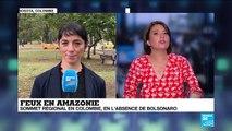 Sommet régional en Colombie pour freiner les incendies en cours