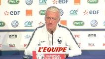 Deschamps «On occupe la meilleure place» - Foot - Qualif. Euro - Bleus
