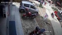 Bad Brakes Cause Big Crash