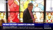 Patrick Balkany chahuté à Levallois-Perret