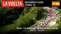 Resumen Flash - Etapa 13 | La Vuelta 19
