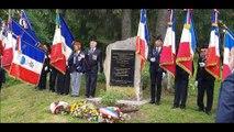 Libération de Pontarlier : le recueillement auprès de la stèle du Larmont et de la plaque du commandant Valentin