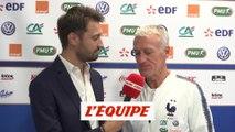 Deschamps «Lemar est quelqu'un sur qui je compte» - Foot - Qualif. Euro - Bleus