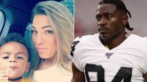 Antonio Brown's Baby Mama Receiving THREATS As Raiders Plan To Possibly CUT Him From The Team!