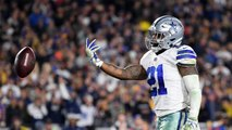 Dickerson on Zeke: It's Hard to Come Into the Season Without Practice