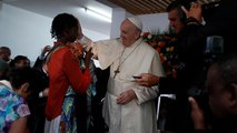 Pope Francis leads Mass on last day in Mozambique