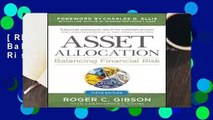 [READ] Asset Allocation: Balancing Financial Risk, Fifth Edition