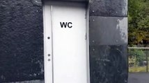 Des toilettes originales avec une belle vue à couper le souffle