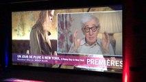 Woody Allen dit son amour du public français