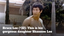 Bruce Lee (†32):  Meet His Beautiful Daughter Shannon