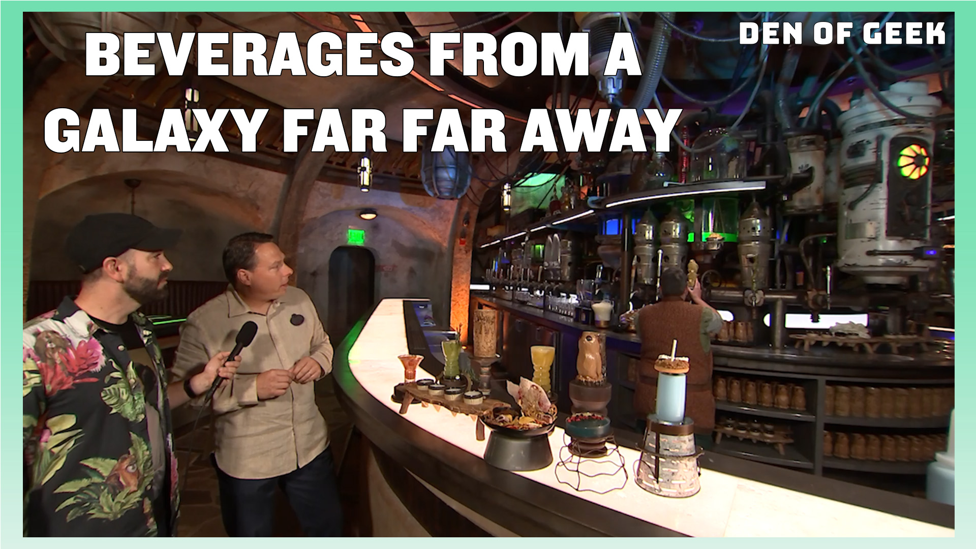 Star Wars: Galaxy's Edge   Beverages From a Galaxy Far, Far Away