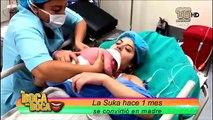 La Suca hace 1 mes se convirtió en madre y lo festeja hoy en De Boca en Boca