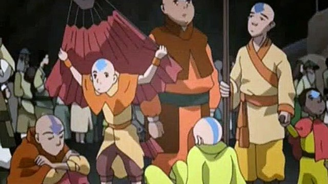 Avatar The Last Airbender S02E12 - Journey To Ba Sing Se, Part 1 - The Serpent's Pass