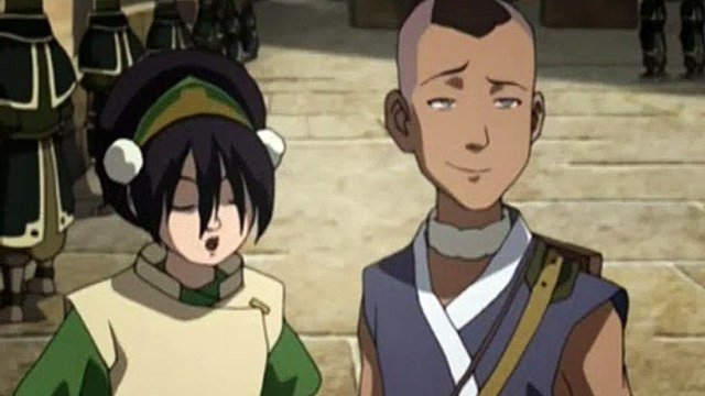 Avatar The Last Airbender S02E13 - Journey To Ba Sing Se, Part 2 - The Drill