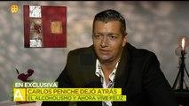 Carlos Peniche dejó atrás el alcoholismo y ahora vive feliz. | Ventaneando
