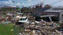 Bahamas: images aériennes des destructions sur l'île Abaco après l'ouragan Dorian