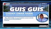Guis Guis de Cheikh Oumar Hann dans Jakaarlo bi du 06 Septembre 2019