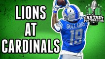 Week 1 Matchups: Lions at Cardinals