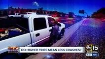 Operation Safe Roads: Do stiffer traffic citation fines lead to safer streets?