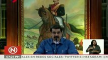 Maduro amenaza con mantener congelado diálogo tras investigación judicial contra Guaidó