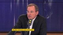 Thierry Mariani sur les méthodes de maintien de l'ordre en Russie