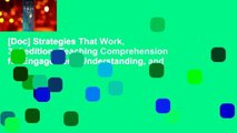 [Doc] Strategies That Work, 3rd edition: Teaching Comprehension for Engagement, Understanding, and