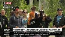 Le site de la centrale nucléaire Tchernobyl envahi par les touristes venus du monde entier après le succès mondial de la série télé