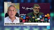 FR NW IRAN ACCORD NUCLEAIRE CENTRIFUGEUSES ENRICHISSEMENT SIAVOSH GHAZI CORRESPONDANT