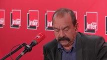 """Philippe Martinez sur les retraites : """"C'est une réforme pour les premiers de cordée"""""""