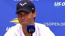 """US Open 2019 - Rafael Nadal : """"A los 33 sigo en condiciones de disfrutar del tenis y eso para muchos entendidos parecía imposible"""""""