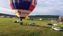10e édition des Ballons de Belfort : le décollage de l'Espadon